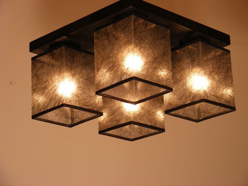 Basari Ceiling Light Four Rustiklight
