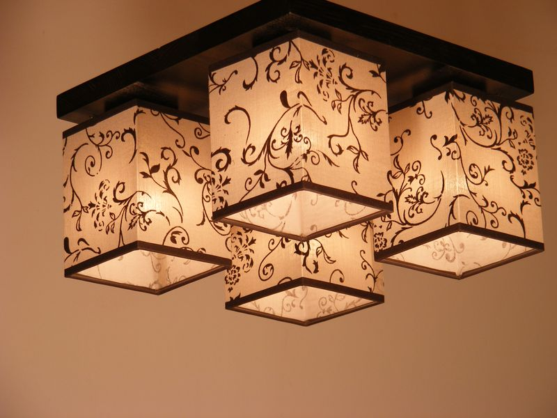 LOMBARDIA square ceiling light - RustikLight.com %