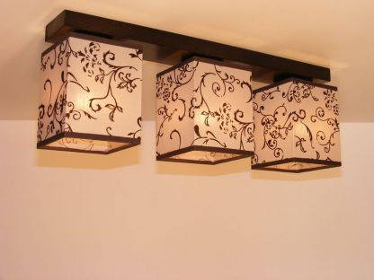 LOMBARDIA triple ceiling light